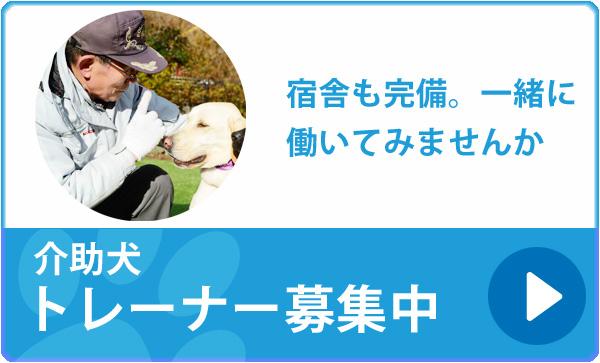 介助犬トレーナー募集中